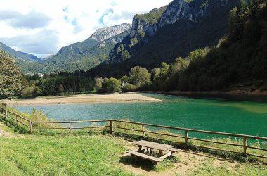 Lago Bernigolo a Moio de' Calvi Bergamo