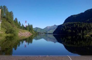 Lago Marcio - direzione Rif. Rifugio Laghi Gemelli Branzi