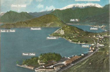 Lago d'Iseo dalla Rocca Oldofredi Castro