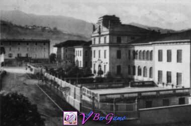 Le scuole elementari di Gandino