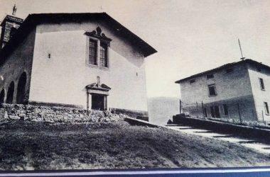 Leffe, colle di S. Martino, anni 50