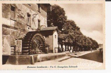 Macina Via Schivardi Romano di Lombardia