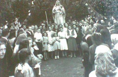 Madonna pellegrina-1950 Poltragno