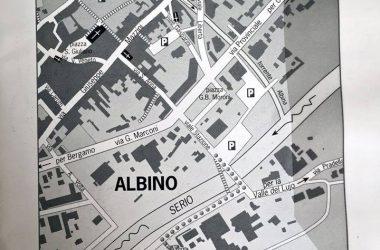 Mappa Chiesa di san Rocco Albino