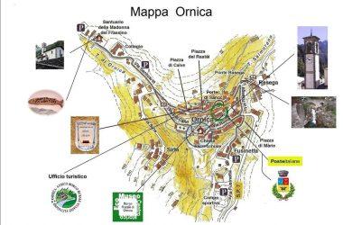 Mappa di Ornica