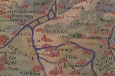 Mappa storica Gandino