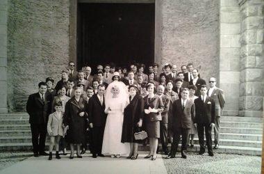 Matrimonio Ponte San Pietro nel 1963