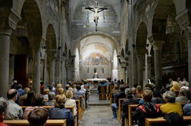 Messa Abbazia rettoria di Sant'Egidio in Fontanella.