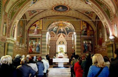 Messa al Santuario della Forcella Pradalunga