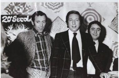 Mike Buongiorno anni 73 in Discoteca BAIK BAIK BONATE SOTTO