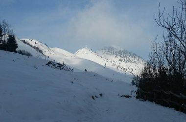 Monte Farno Gandino Innevato