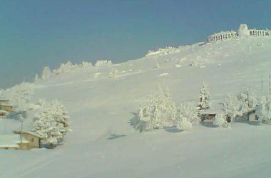 Monte Farno con neve Gandino