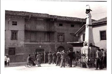Monumento ai Caduti anni 50