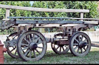 Museo agricoltura Verdello carro