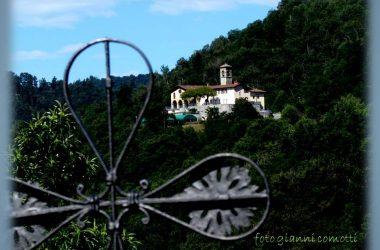 NEMBRO - santuario Madonna dello Zuccarello - dalla chiesa di S.Pietro