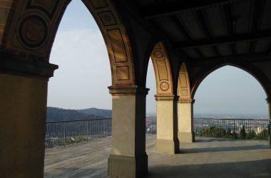 Nembro - Bergamo Santuario della Madonna dello Zuccarello porticato
