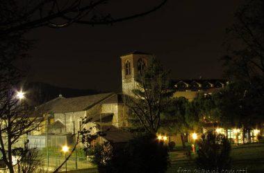 Nembro - chiesa S.Nicola e area Casa di Riposo