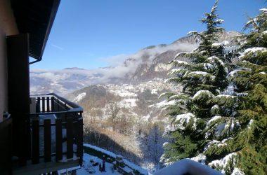 Neve a Costa Serina