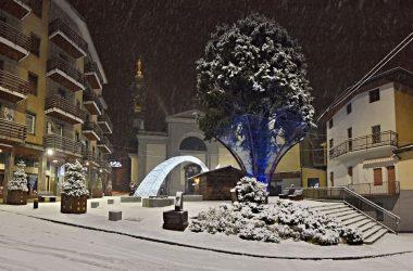 Neve a Natale a Gazzaniga