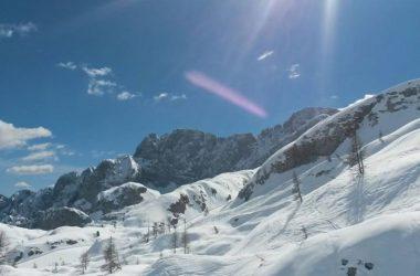 Neve a Vilminore di Scalve