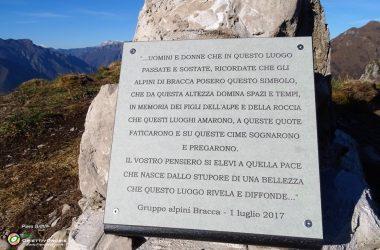 Onore agli Alpini di Bracca