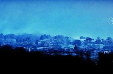 Orezzo con la neve Gazzaniga