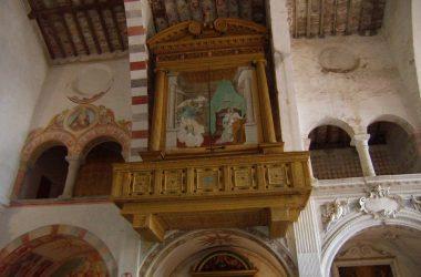 Organo ligneo del 1660 Chiesa San Nicola Almenno San Salvatore
