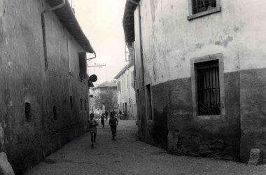 Orio al Serio 1950, il primo tratto di via IV Novembre
