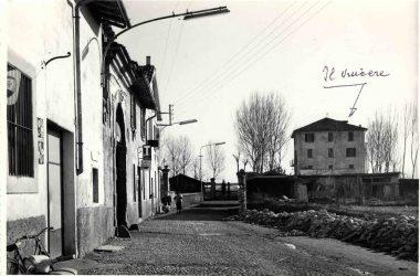 Orio al Serio, 1962 l'ultimo tratto di via IV novembre