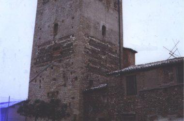 Orio al Serio, 1980. La nostra torre come si presentava prima del restauro