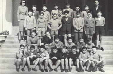 Orio al Serio anni 1960 scuole medie.