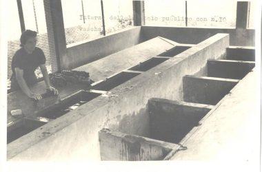 Orio al Serio, anno 1947 interno del lavatoi