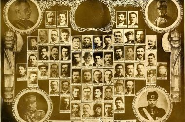 Orio al Serio, foto storica dei combattenti e reduci di Orio al Serio