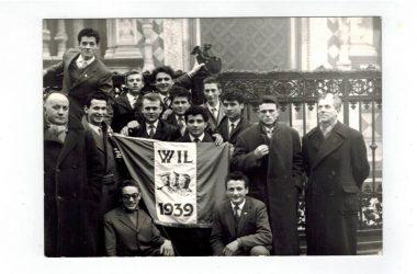 Orio al Serio, la classe del 1939 alla visita di leva 23 gennaio 1959