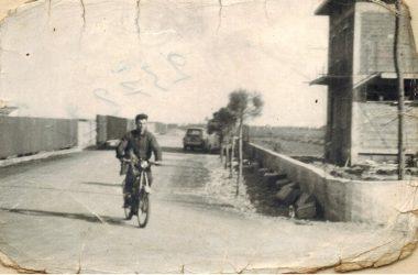 Orio al Serio, via Leonardo Da Vinci in costruzione 1965