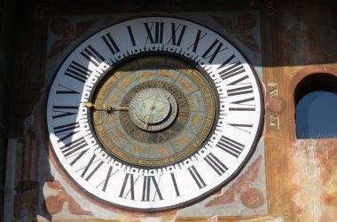 Orologio Planetario Fanzago posto sulla Torre del Comune di Clusone