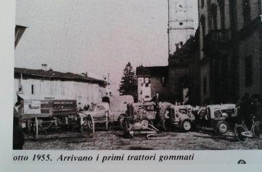 Osio Sotto anno 55 trattori in piazza