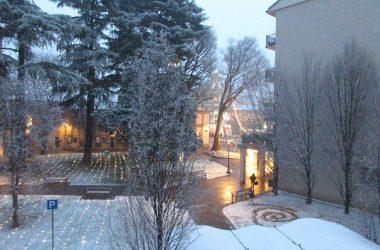 Osio Sotto con la neve