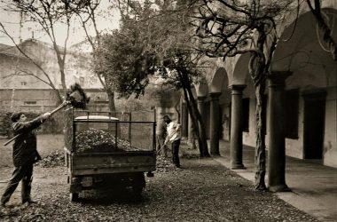 Osio Sotto cortile di Palazzo Alborghetti