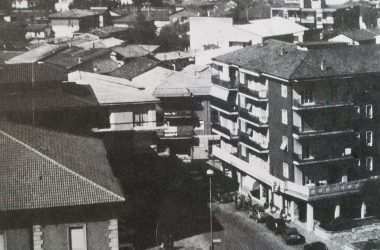 Osio Sotto panorama anni 70