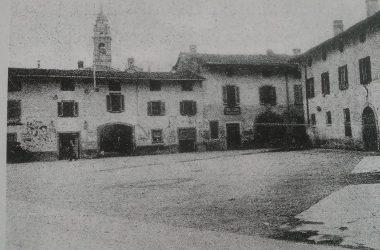 Osio Sotto piazza agliardi anni 30