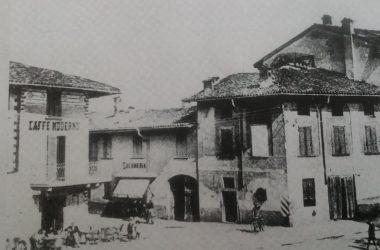 Osio Sotto piazza agliardi anni 50