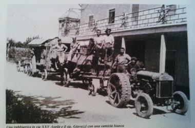 Osio Sotto via 25 aprile dove c'è il bar oxio anni 50
