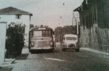 Osio Sotto via matteotti la fermata della vecchia A.T.M
