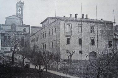 PONTIDA MONASTERO DI SAN GIACOMO in una foto del 1926