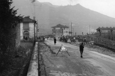 PONTIDA lavori stradali anni 1953