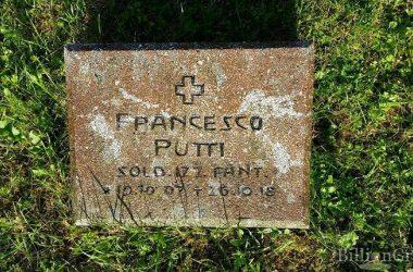 PUTTI Francesco Pietro (di Angelo) (Soldato 127°Reggimento Fanteria) nato il 19.10.1897 a Ponteranica
