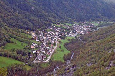 Paese di Valbondione Bergamo