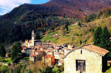 Paese di Vedeseta, Val Taleggio