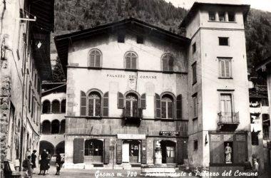 Palazzo Milesi anni 70 Gromo